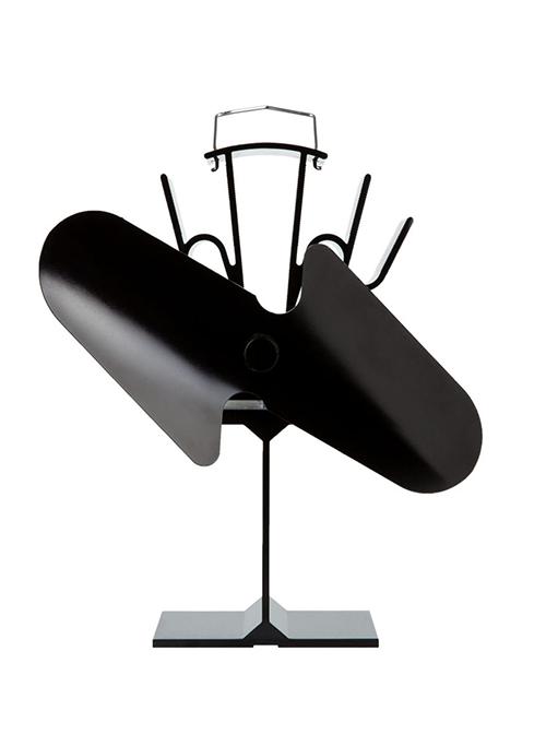 2 blade stove fan