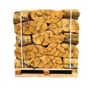 40 net bags kiln dried logs Scotland free delivery