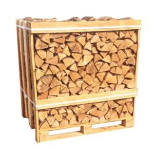 Kiln Dried Birch Logs Crate