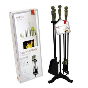 turn handle companion set pewter
