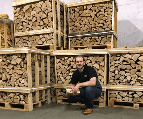 Offering log crates throughout Scotland