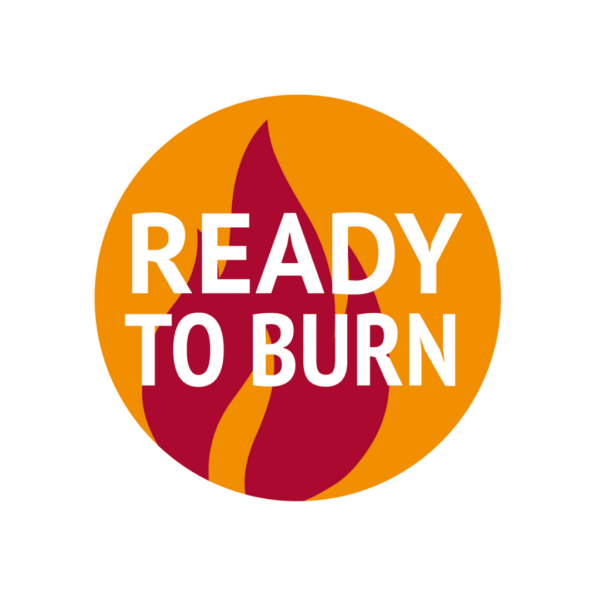 Woodsure Ready To Burn Logo