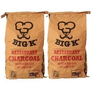 Big K 12kg Charcoal Twin Pack