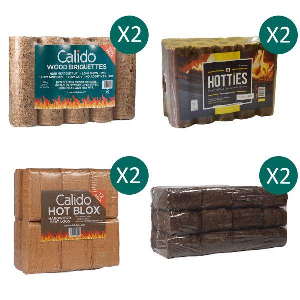 briquette selection bundle